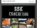 View More Information on Sisic Concreting
