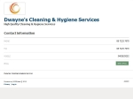 View More Information on Dwayne's Cleaning & Hygiene Services (DCHS)