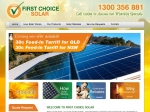 View More Information on First Choice Solar