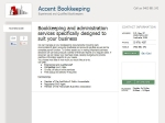 View More Information on Accent Bookkeeping
