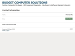 View More Information on Budget Computer Solutions