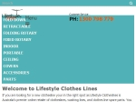 View More Information on Lifestyle Clotheslines