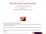 View More Information on Birdie Hair and Beauty