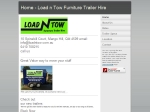 View More Information on Load N Tow Furniture Trailer Hire