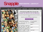 View More Information on Snapple Photo Booths