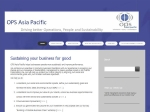 View More Information on Ops Asia Pacific Pty Ltd