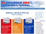 View More Information on A1 Coolroom Hire