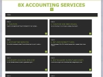 View More Information on 8X Accounting Services