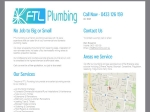 View More Information on FTL Plumbing