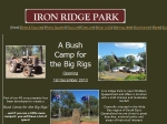View More Information on Iron Ridge Park