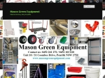 View More Information on Mason Green Equipment