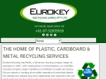 View More Information on Eurokey Recycling (Apac) Pty Ltd