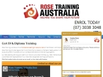 View More Information on Rose Training Australia