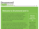 View More Information on Drummond & Co Equity Services