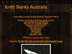 View More Information on Knife Blanks Australia