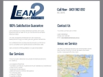 View More Information on Lean 2 Electrical