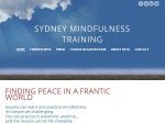 View More Information on Sydney Mindfulness Training