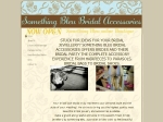 View More Information on Something Bleu Bridal Accessories