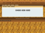 View More Information on As Good As Gold Kleaning