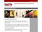View More Information on Specialist Employment Services