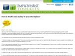 View More Information on Employment Tool Kits