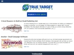 View More Information on True Target Marketing