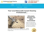 View More Information on Professional Carpet Cleaning Newcastle