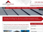 View More Information on Always Roofing Pty Ltd