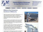 View More Information on Pollution Systems Maintenance