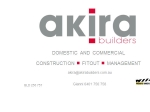 View More Information on Akira Builers Pty Ltd
