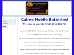 View More Information on Cairns Mobile Batteries