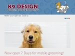 View More Information on K9 Design Mobile Dog Grooming