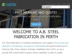 View More Information on AB Steel Fabrication