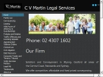 View More Information on C V Martin Legal Services
