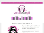 View More Information on Voice Over Girl