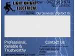 View More Information on Light Knight Electrical