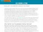View More Information on Sydney Housekeepers