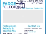 View More Information on Fadge Electrical