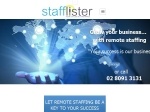 View More Information on Stafflister