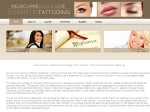 View More Information on Melbourne College Of Cosmetic Tattoo