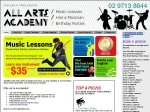 View More Information on All Arts Academy
