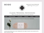 View More Information on Classic Wedding Invitation, Melbourne