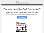View More Information on Call Someone
