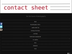 View More Information on Contact Sheet