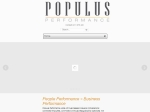 View More Information on Populus Performance