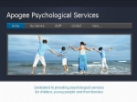 View More Information on Apogee Psychological Services