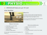 View More Information on 123Physio In Northmead
