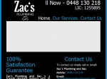 View More Information on Zac's Plumbing And Gas