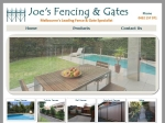 View More Information on Joe's Fencing & Gates