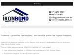 View More Information on Ironbond